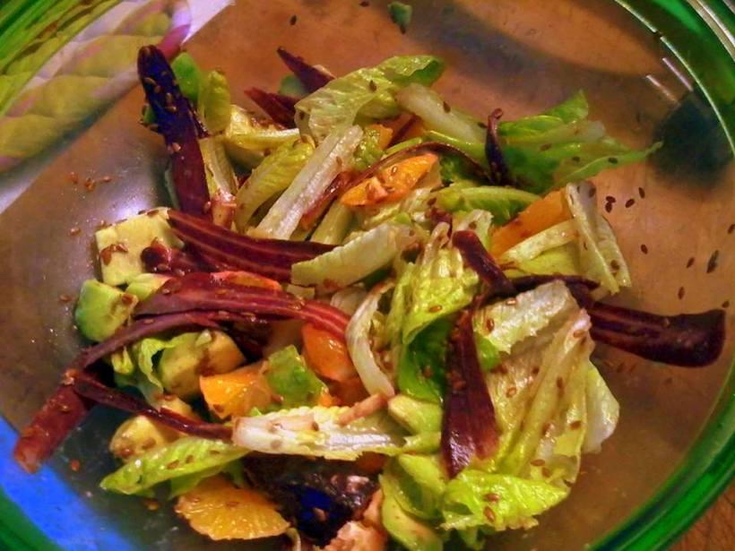 insalat di carote viola
